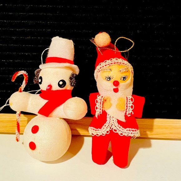 Vintage Kitschy Christmas Ornament Lot❤️🎄